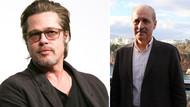 Numan Kurtulmuş'tan Brad Pitt açıklaması: İnşallah anlaşırız