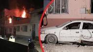 Suriye'den atılan 4 roket mermisi Kilis'e düştü