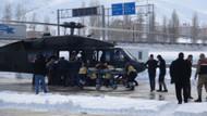 Bitlis'te çığ altından kurtarılan askerler hastaneye getirildi