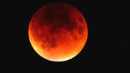 CANLI YAYIN - Süper Kanlı Mavi Ay Tutulması başladı!