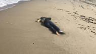 Mudanya'da sahilde kadın cesedi bulundu