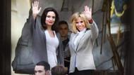 Angelina Jolie ve Fransa First Lady'si Brigitte Macron bir araya geldi