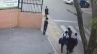 Kadın öğretmen fren yerine gaza basarak öğrencilerin arasına daldı
