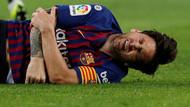 Barcelona'da El Clasico öncesi korkutan sakatlık! Lionel Messi yürekleri...