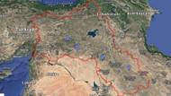 Google güneydoğuyu Kürdistan olarak gösterdi