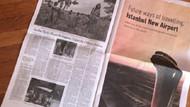 New York Times'ta yer alan İstanbul Havalimanı reklamı sosyal medyada tartışma yarattı