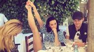 Katy Perry'nin bacak pozu olay oldu