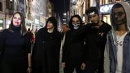Cadılar Bayramı: İstiklal Caddesi'ni cadılar bastı