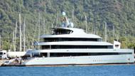 Haftalık kirası 1 milyon euro olan yat Marmaris'te