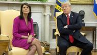 ABD'nin BM Daimi Temsilcisi Nikki Haley istifasını açıkladı