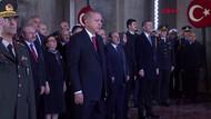 Anıtkabir'deki törende dikkat çeken siren detayı