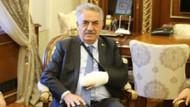 Hayati Yazıcı trafik kazası geçirdi sol eli alçıya alındı