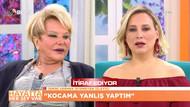 Kocasını aldatan kadın Beyaz TV'de Selin Karacehennem'i çileden çıkardı
