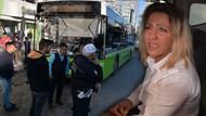 Cipteki kadınlar kadın otobüs şoförünü dövdü! Kadının dudağını patlattılar