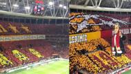 Galatasaray taraftarından iki müthiş kareografı