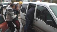 Evden kaçan 17 yaşındaki kızlar röportaj verirken yakalandı