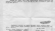 Cezaevinden gönderilen mektupta işkenceye fotokopili sansür!