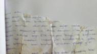 Parçalanmış mektuptan 10 yıllık baba tacizi ortaya çıktı