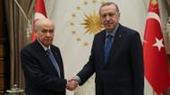 Beştepe'deki Erdoğan Bahçeli zirvesi sona erdi