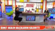 Bircan Bali canlı yayında squat şov yaptı: Kalçalarıma güveniyorum