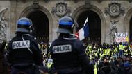 Fransız devlet televizyonunda Sarı Yelekler pankartına sansür: Defol git silindi