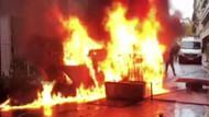 Paris sokakları savaş alanına döndü: 110 yaralı 287 gözaltı