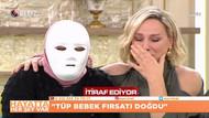 Maskeyle canlı yayına katıldı itirafları Nur Viral'i ağlattı