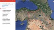 Türkiye'den Google'a skandal harita için başvuru