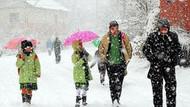 Kar yağışı nedeniyle 5 ilde okullar tatil edildi