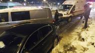 Ankara'da 28 araçlık zincirleme kaza!