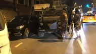 Fatih'te Kara çarşaf giyen erkek silahını çıkarıp ateş açtı
