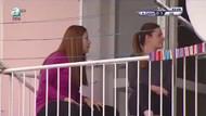 Galatasaray maçında dikkatler o balkona kaydı