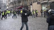 Paris'te Sarı Yelek eylemlerinde şiddet dalgası yayılıyor