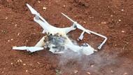 Afrin'de teröristlerin kullandığı drone düşürüldü