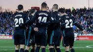 Leganes karşısında Real Madrid şov yaptı: 3-1