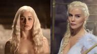 Ömür Gedik, Khaleesi oldu: Üç kilo ek saç takıldı