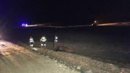 Nevşehir'de düşen askeri uçaktan acı haber: 1 şehit