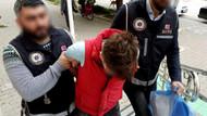 İzmir'de kadın şüpheli, uyuşturucuyu sütyenine saklamış
