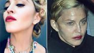 Madonna'nın halini gören inanamadı