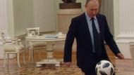Putin'den futbol şov