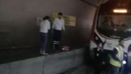 Marmaray'daki panik anları kamerada
