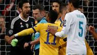 Hakem penaltı verdi, Buffon çılgına döndü: Kalbinin yerinde bir çöp var!