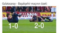 Galatasaray - Başakşehir capsleri gülümsetti