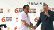 Erdoğan'dan İzmir mitinginde İbrahim Tatlıses sürprizi