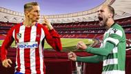 Atletico Madrid-Sporting Lizbon maçı hangi kanalda, ne zaman, saat kaçta?
