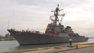 ABD savaş gemisi Suriye açıklarında, Rus jetleri havalandı