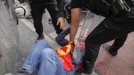 Beşiktaş'ta ikinci polis müdahalesi