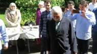 Yürüyüşe dikkat! Fethullah Gülen'in yeni görüntüleri ortaya çıktı