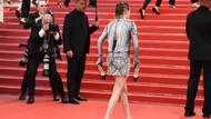 Kristen Stewart kırmızı halı yasaklarını ezdi geçti!