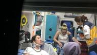 Düzce'de 5 kişinin yaralandığı kaza şaka değil tacizmiş!